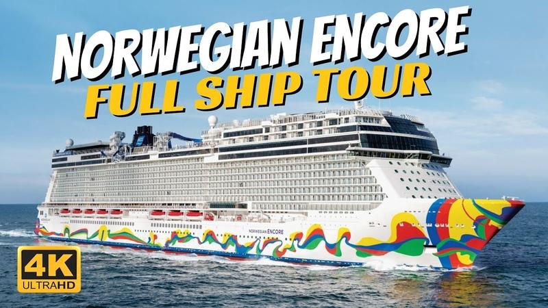 Norwegian Encore Full Ship Walkthrough Tour Review 4K All Public Spaces Toured And Explained