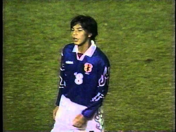 日本vsカザフスタン '98W杯アジア最終予選 国立競技場