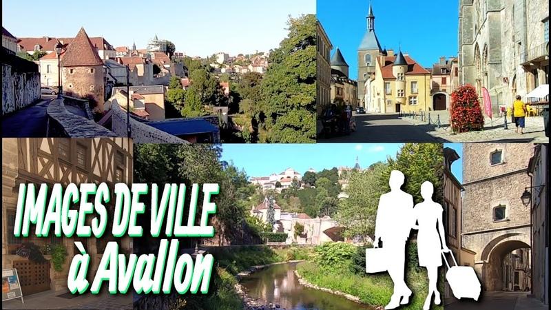 Images de ville a Avallon Yonne Morvan