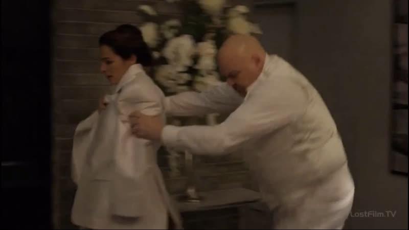 Сорвиголова залетает к Фиску и Меченному на свадьбе Фиска и Ванессы Часть 5