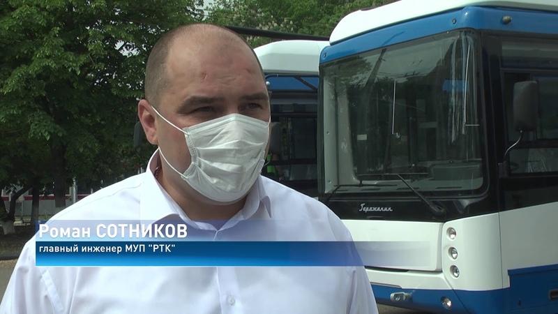 Автономные троллейбусы в Ростове