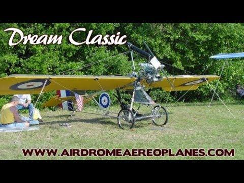 САМОЛЁТ УЛЬТРАЛАЙТ Airdrome Aeroplanes Dream Classic Dream Fantasy Aircraft Kits