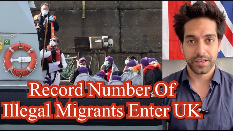 UK Government Lose Control Of Illegal Migration